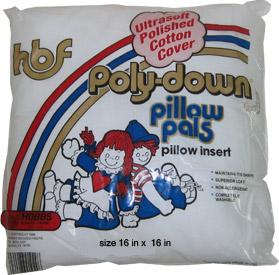 PolyDown Pillow Form 16x16