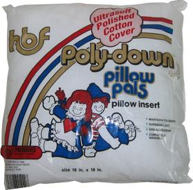PolyDown Pillow Form 18x18