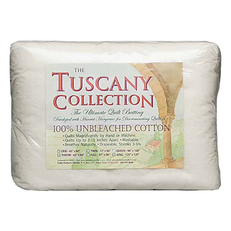 Tuscany Unbleach Cotton Crib