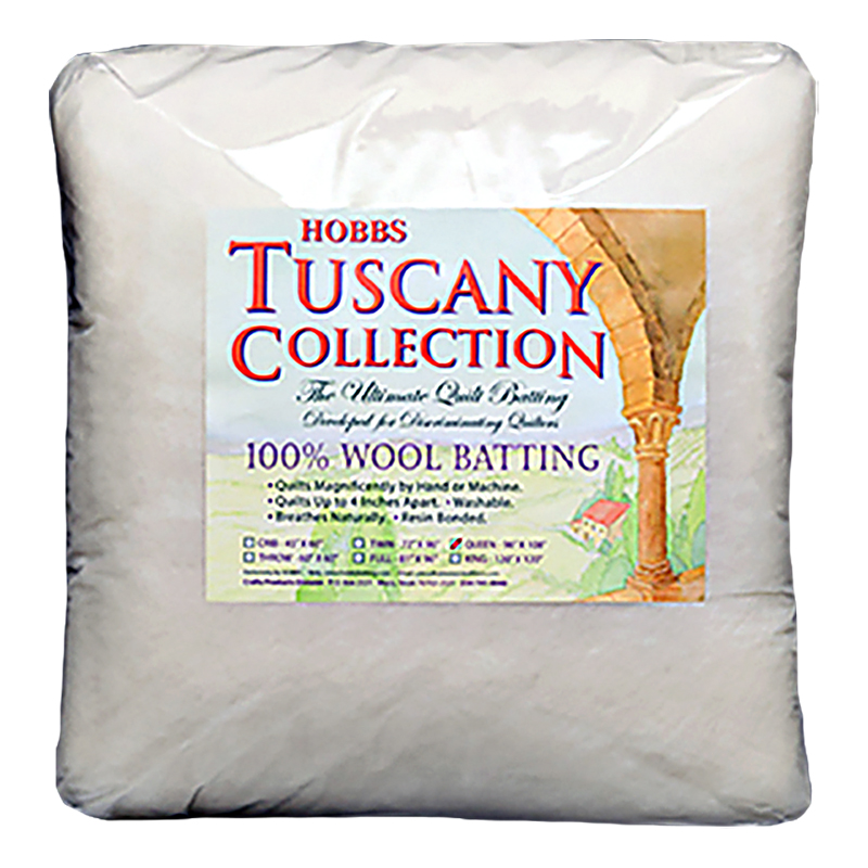 Tuscany Wool Batting Twin