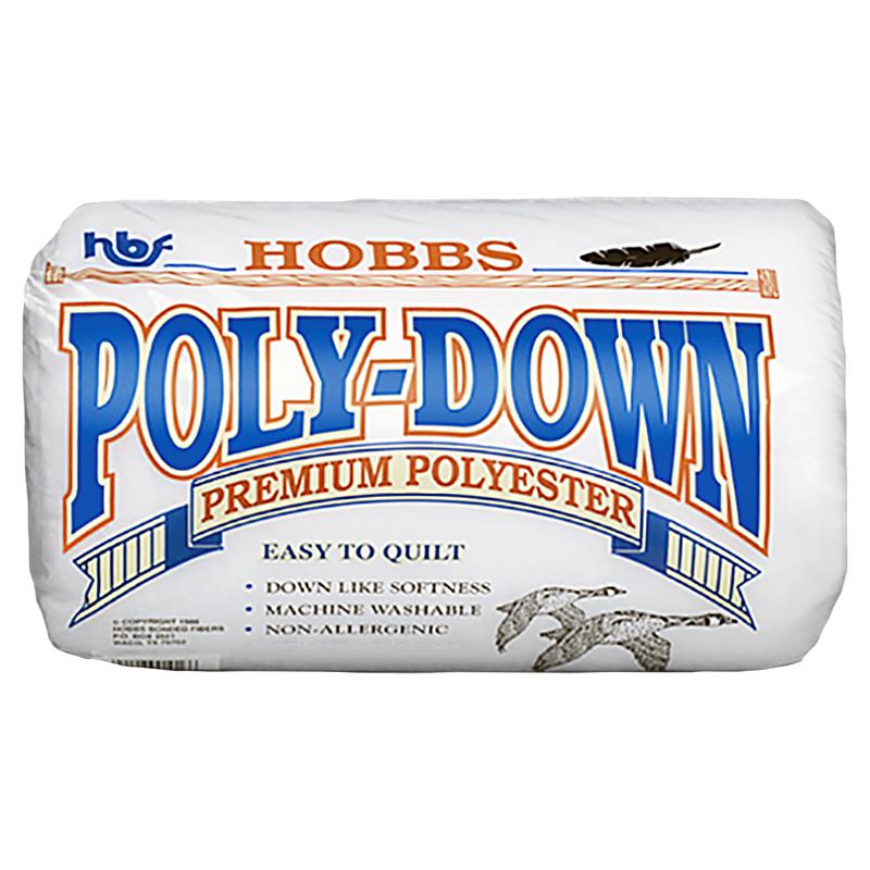 Poly Down Lo Loft Batting Twin