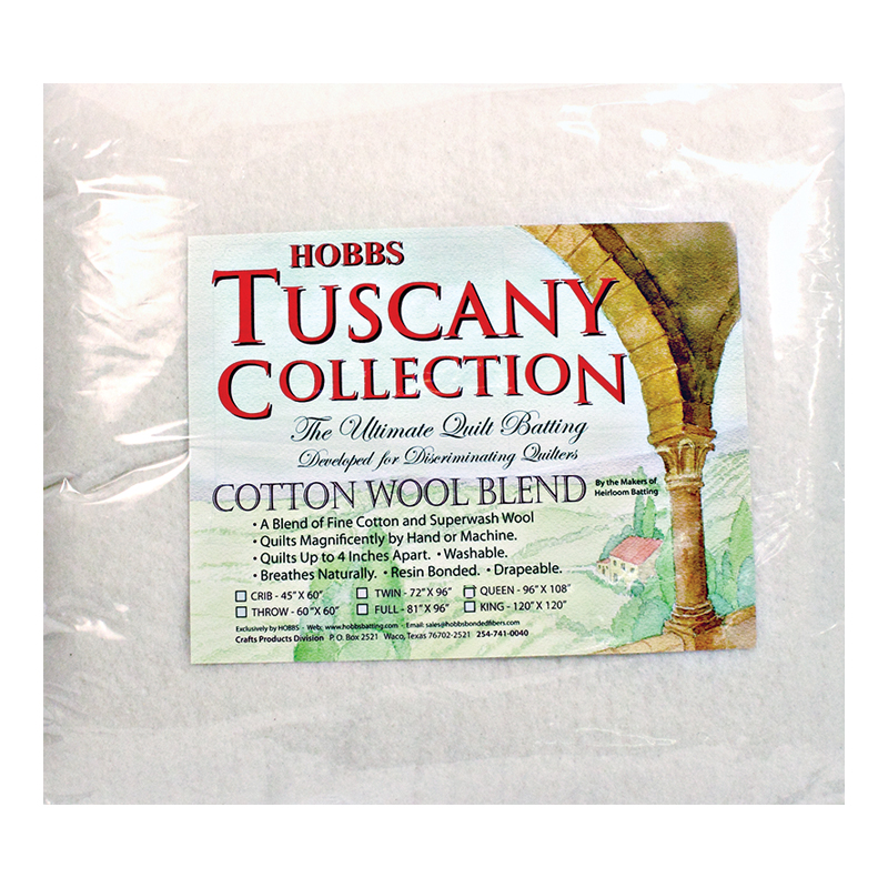 Tuscany Cotton Wool Queen