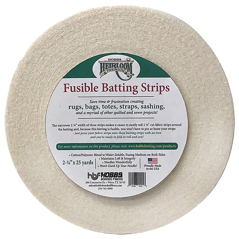HL Fusible 80/20 Strips 2.25x25
