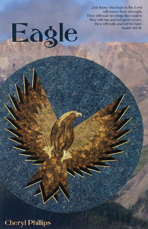 Eagle Pattern - Phillips Fiber Art - EGP