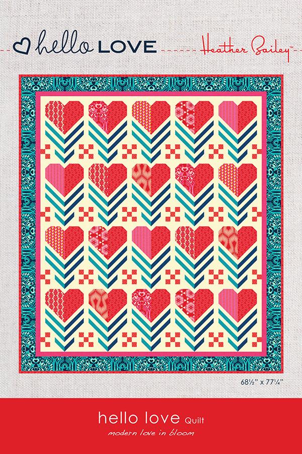 Hello Love Quilt