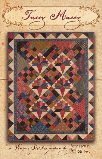 Heartspun Quilts Tussy Mussy #242