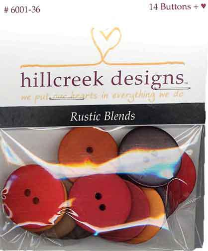 Buttons 7/8 14ct Rustic Blends