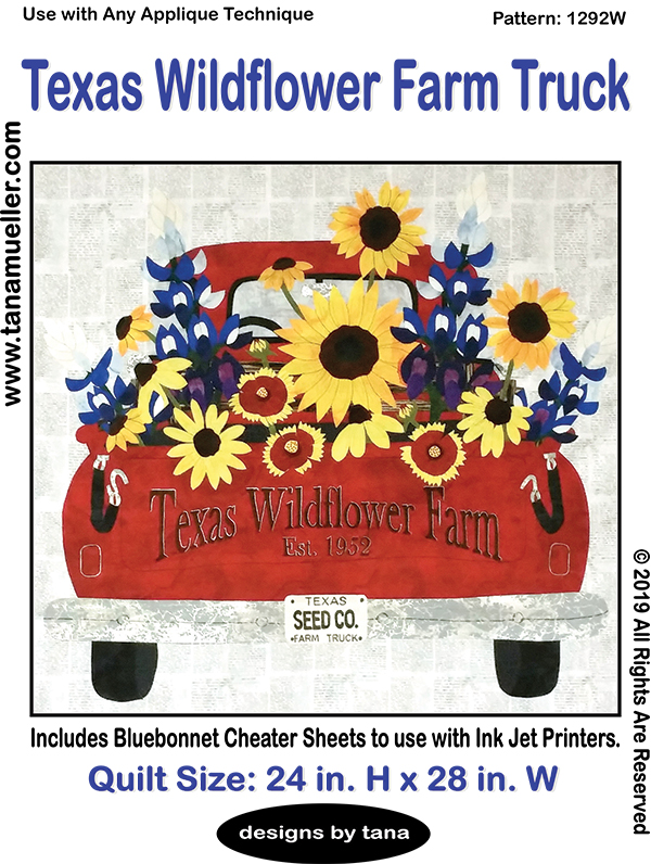Texas Wildflower Farm Truck