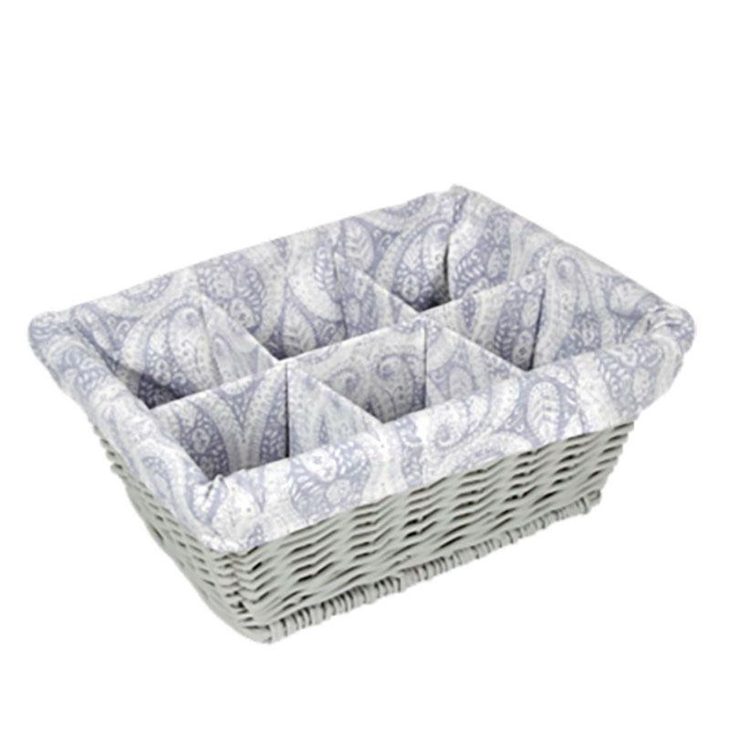 Basket W/Dividers