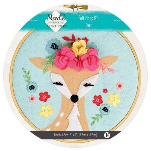 Needle Creations Deer w/Flowers