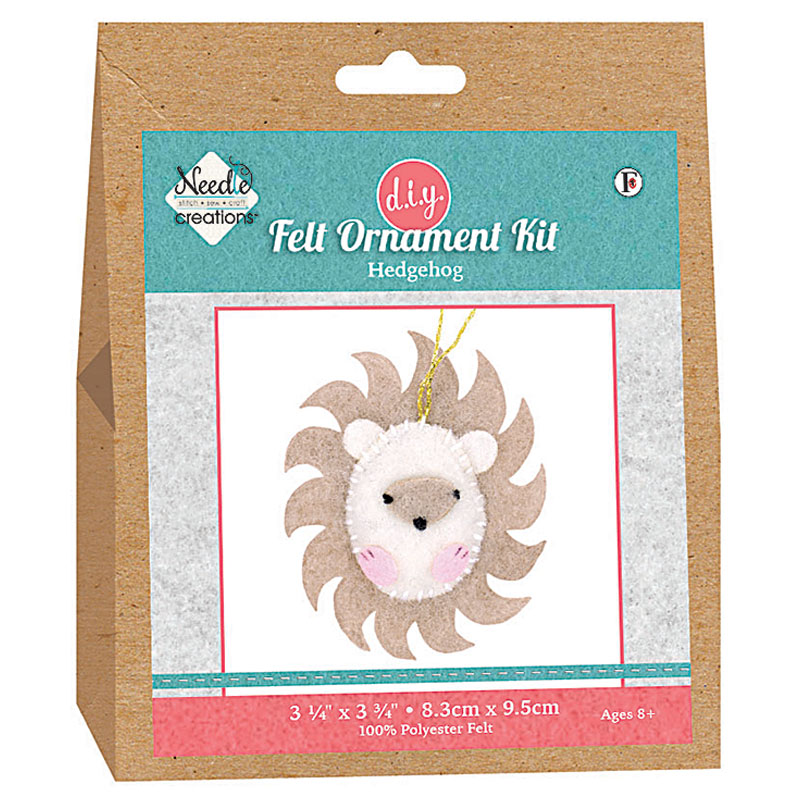 Needle Creations HedgeHog Ornament