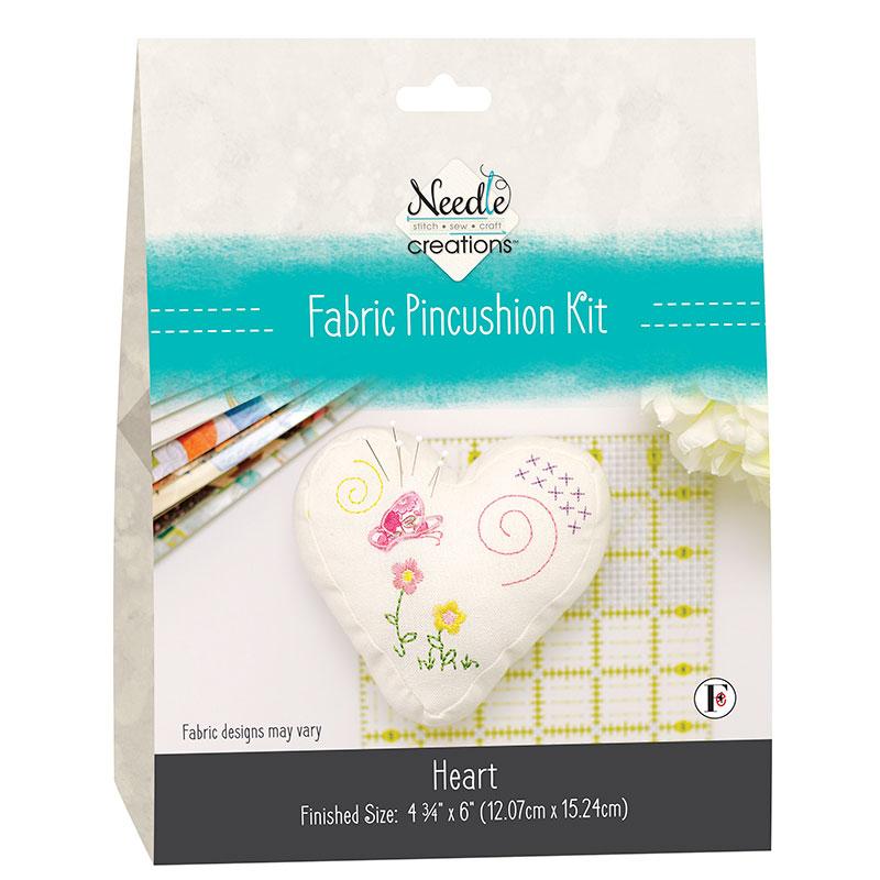 Moda Needle Creations Pincushion Kit Heart
