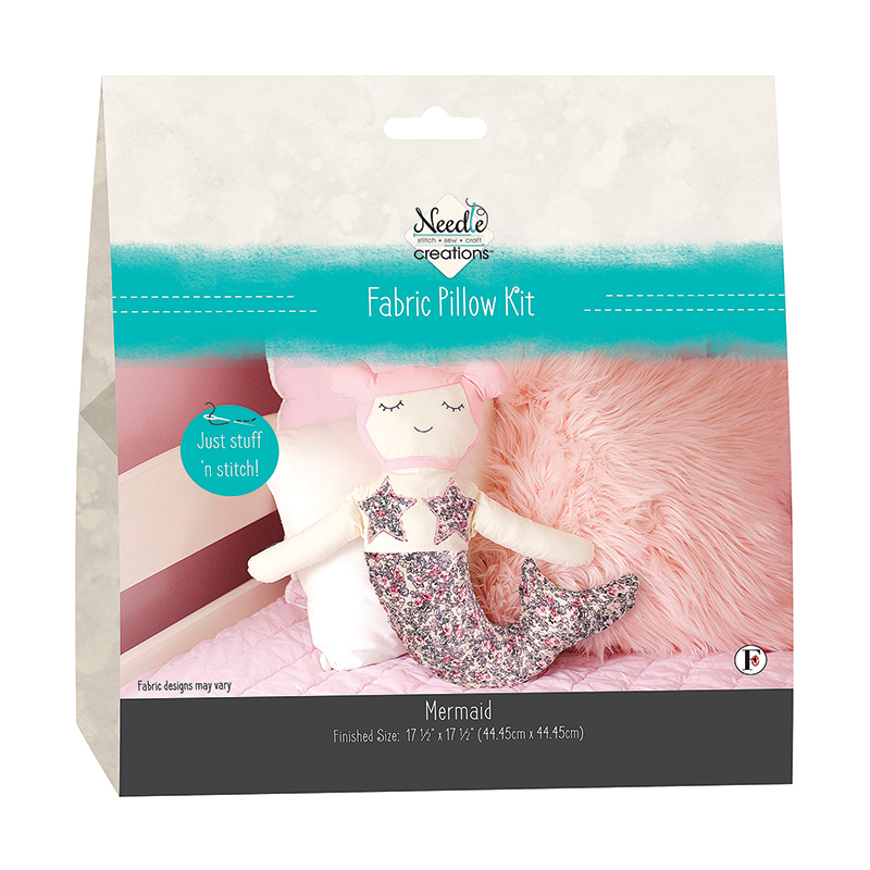 NC Pillow Kit Mermaid