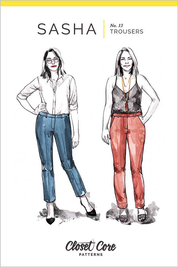 Sasha Trousers Pattern