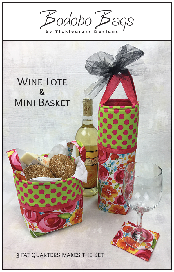 Wine Tote & Mini Basket