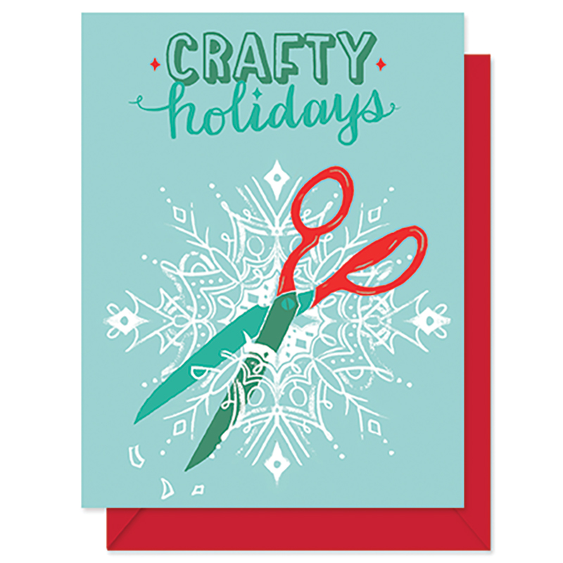Crafty Holidays Scissors