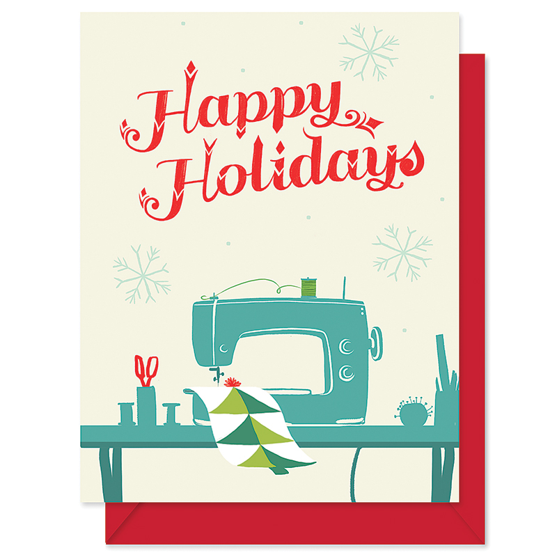 Happy Holidays Sewing