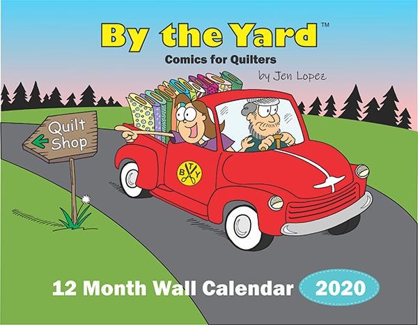By The Yard Wall Calendar 2020