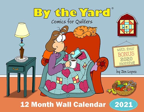 By The Yard Wall Calendar 2021