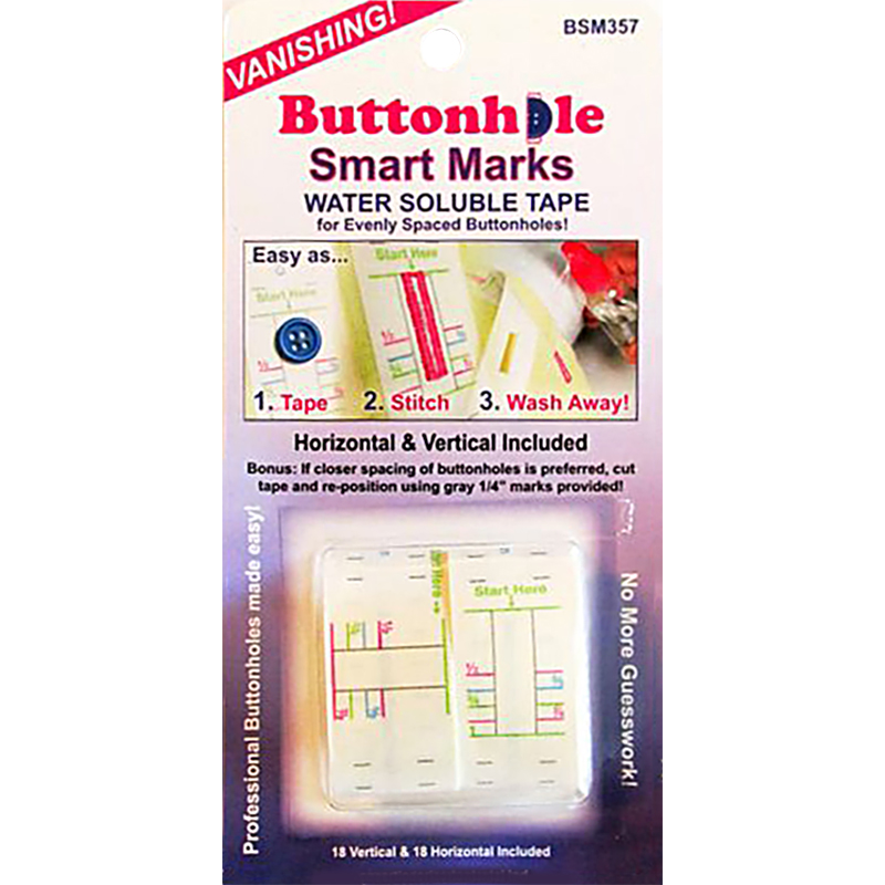 Buttonhole Smart Marks