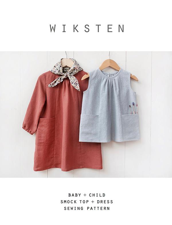 Pattern Baby/Child Smock Top/Dress Wiksten