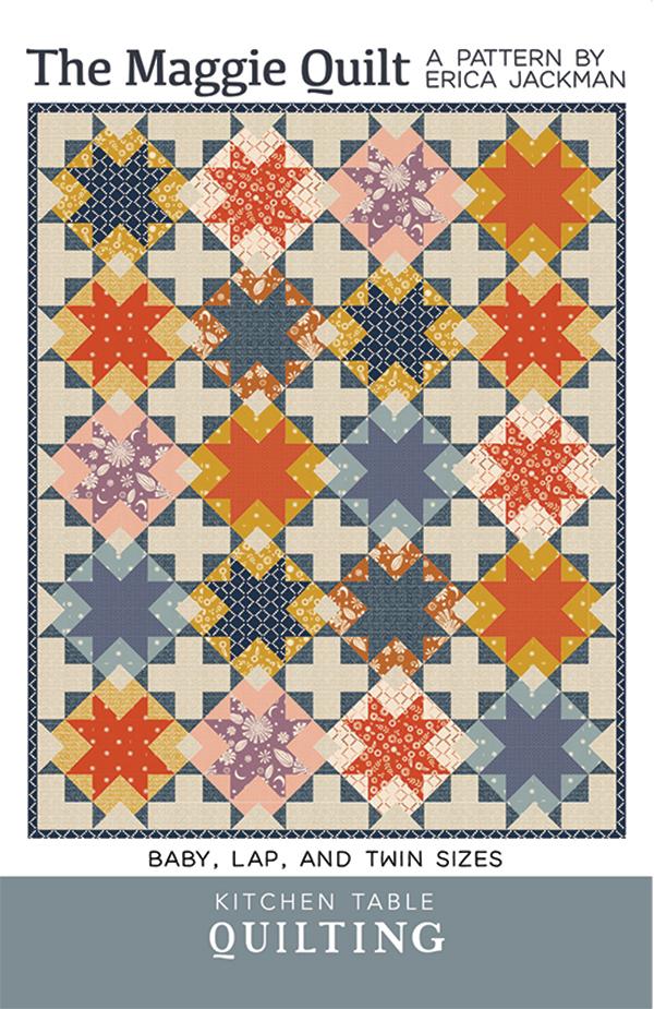 KTQ 141 The Maggie Quilt Pattern