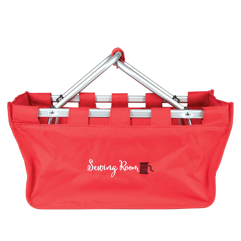 Market Tote Red Sewing Room
