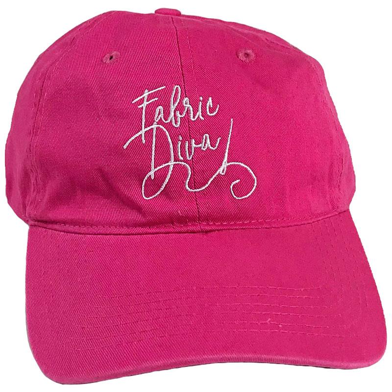 Cap Pink Fabric Diva