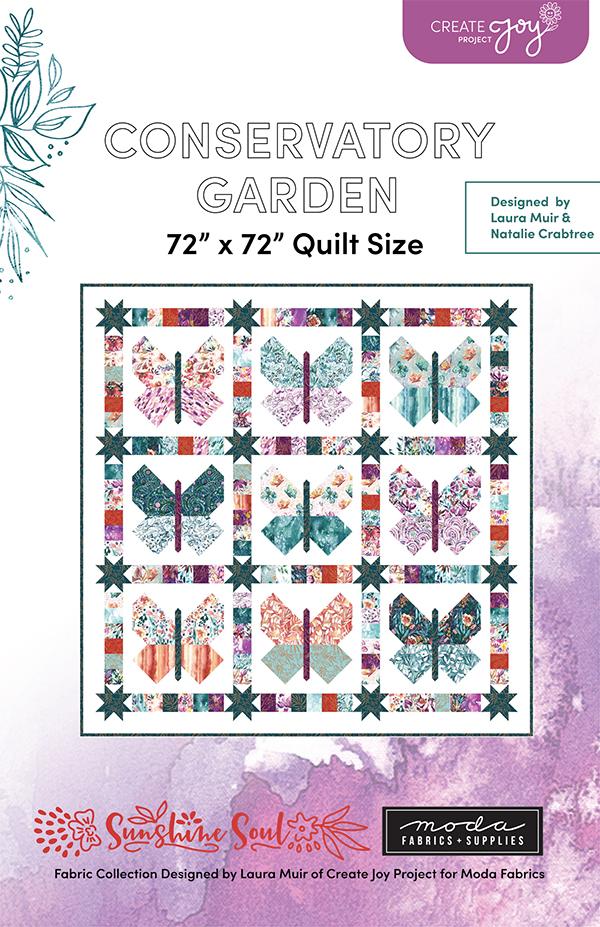 Conservatory Garden Quilt Pattern