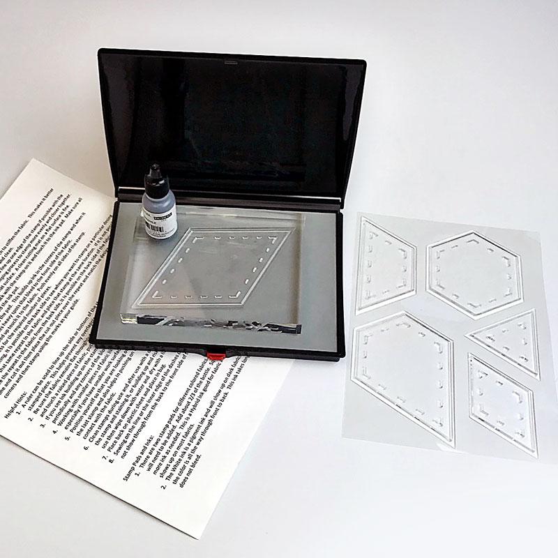 Stamp Set Hexi Kit 1 1/4