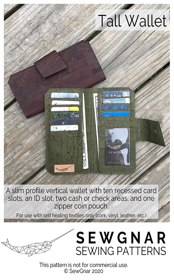 Tall Wallet