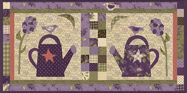 3 Birds On A Hot Summer Day pattern
