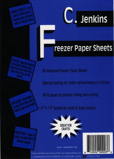 Freezer Paper 12 X 15 40ct FREPA4302