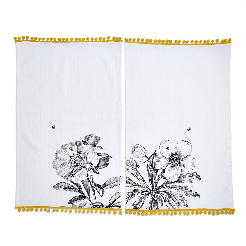 Queen Bee Dish Towel - by Two's Company
