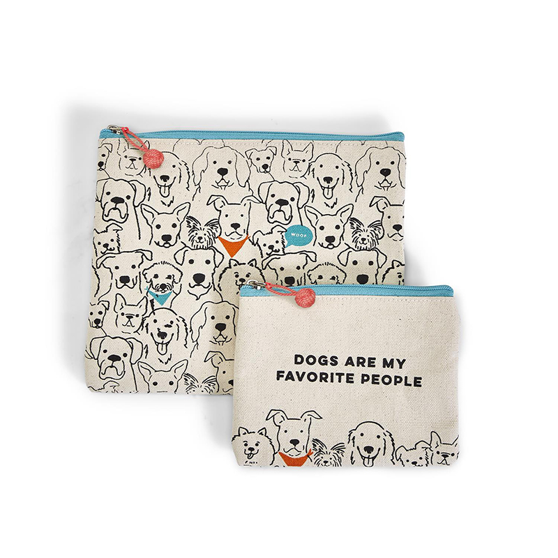 Dogs Are My Favorite Bag Set by Two's Company