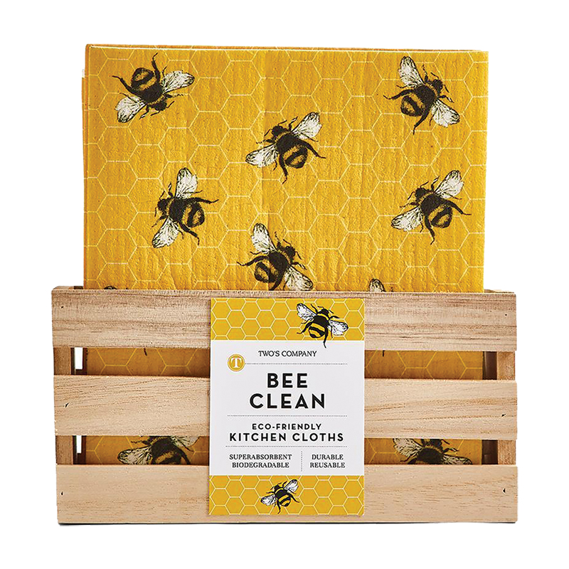 Bee Clean Kitchen Cloth w/Diply