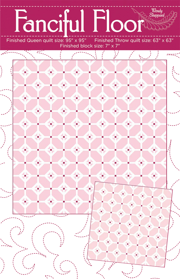 Fanciful Floor Quilt Pattern