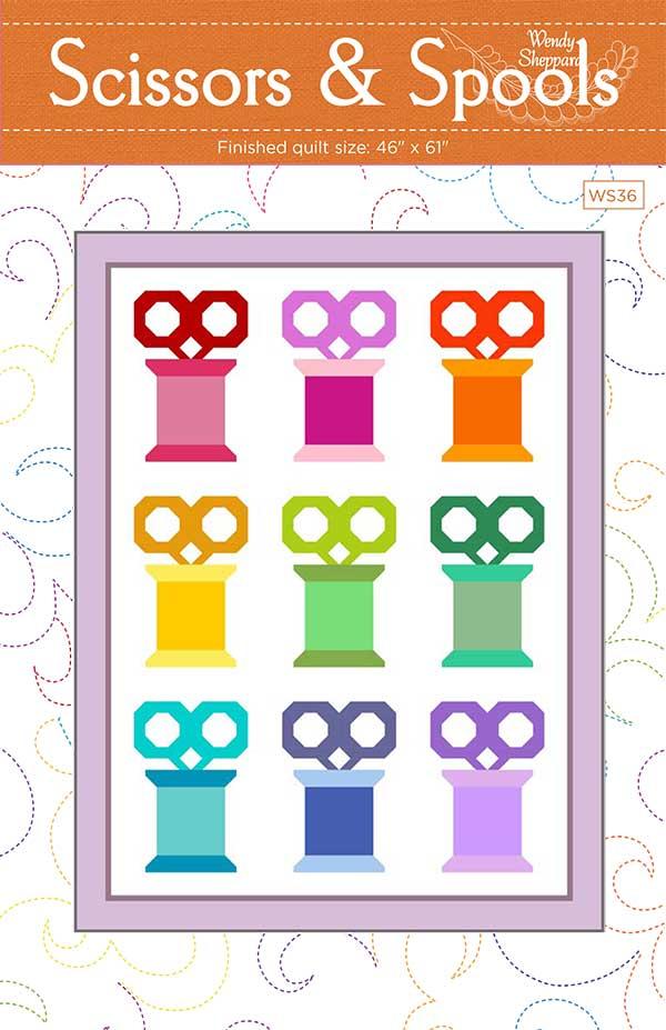 *PRE-ORDER* Pattern, Scissors And Spools