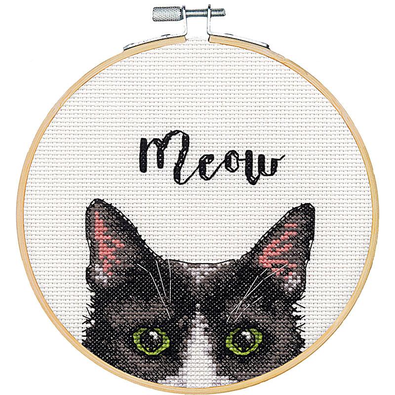 Meow Cross Stitch Kit