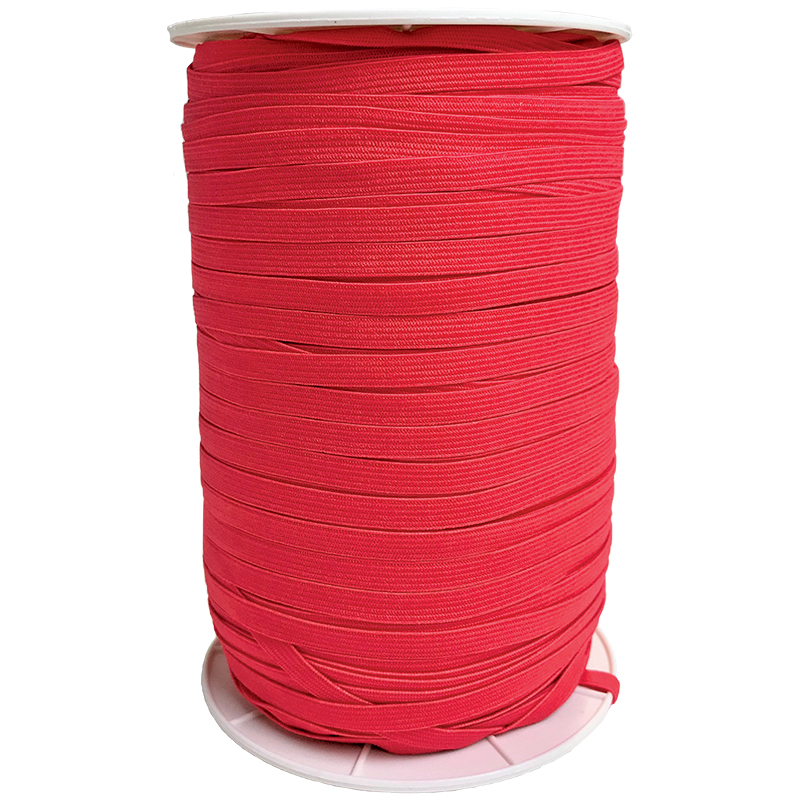 1/4 Soft Elastic Hot Red