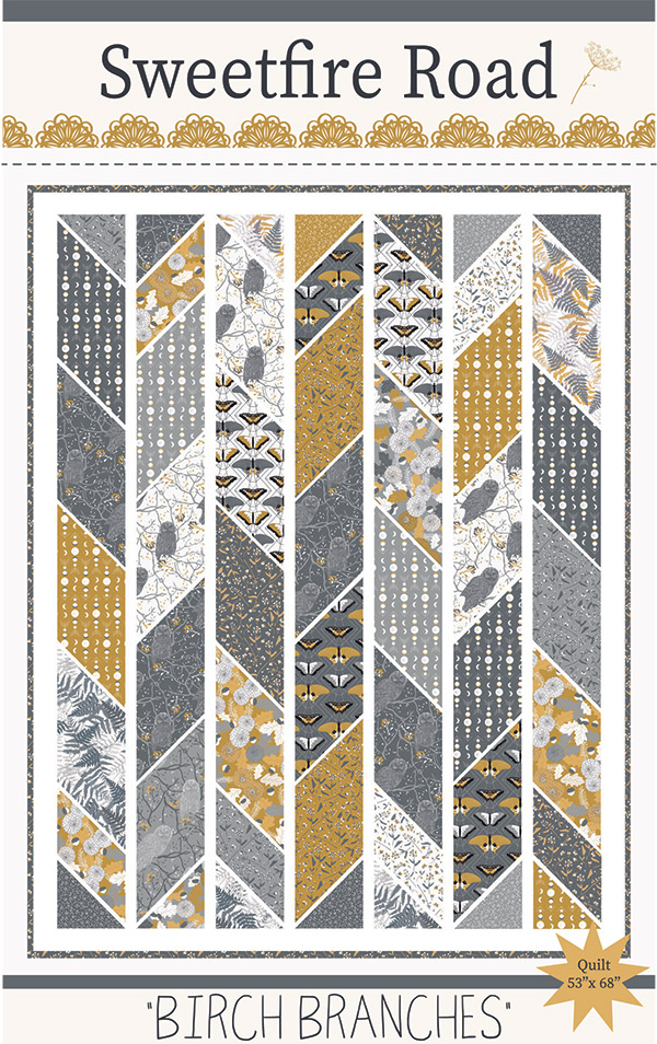 *PRE-ORDER* Pattern, Birch Branches