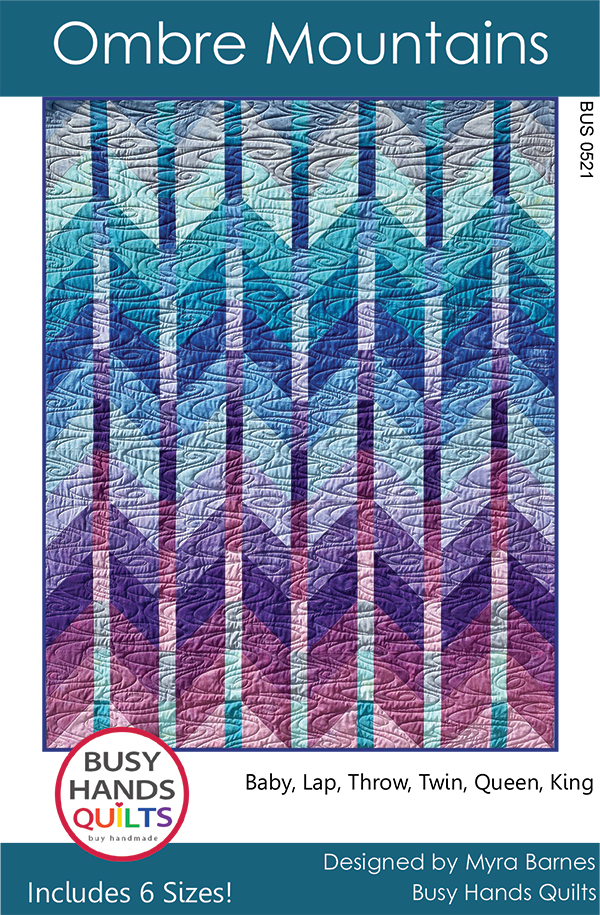 Ombre Mountain Quilt Pattern