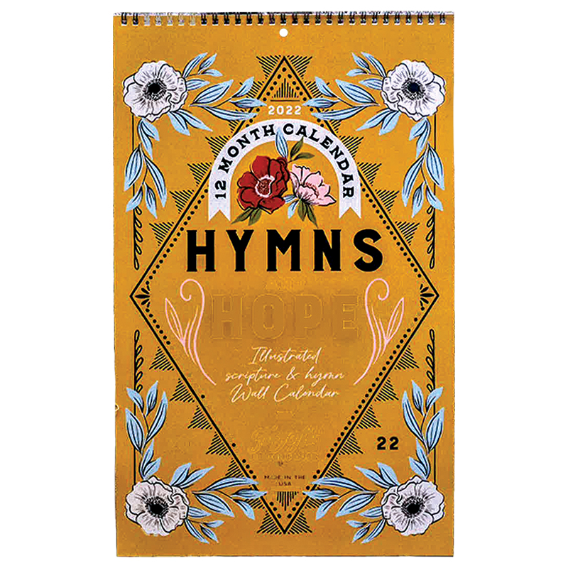 2022 Hymns & Hope Wall Calendar