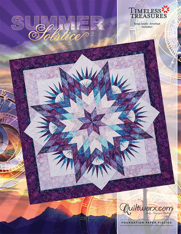 Summer Solstice - paper pieced pattern