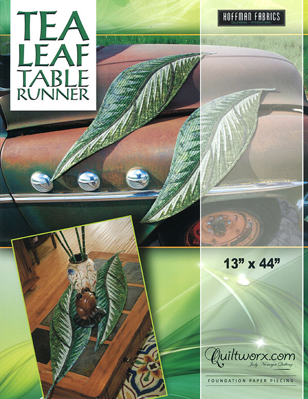 Tea Leaf Table Runner Pattern