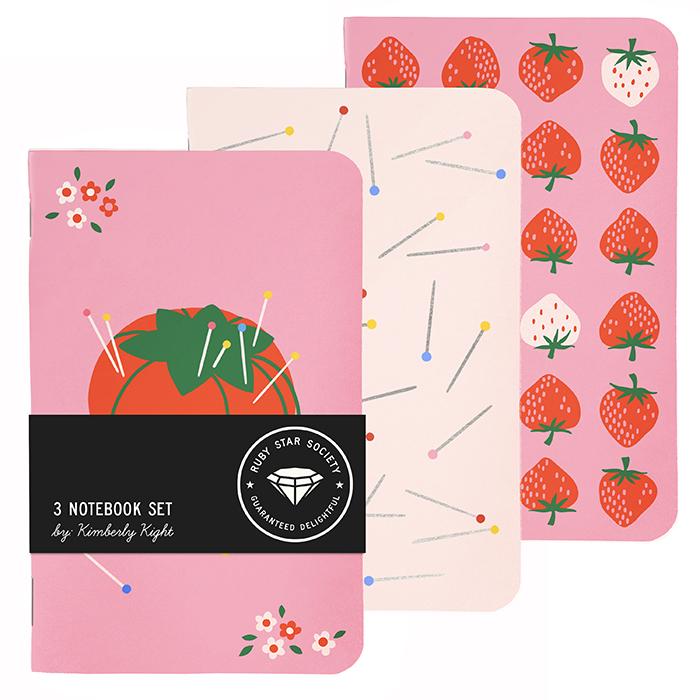 Kimberly Tomato Notebook 3ct
