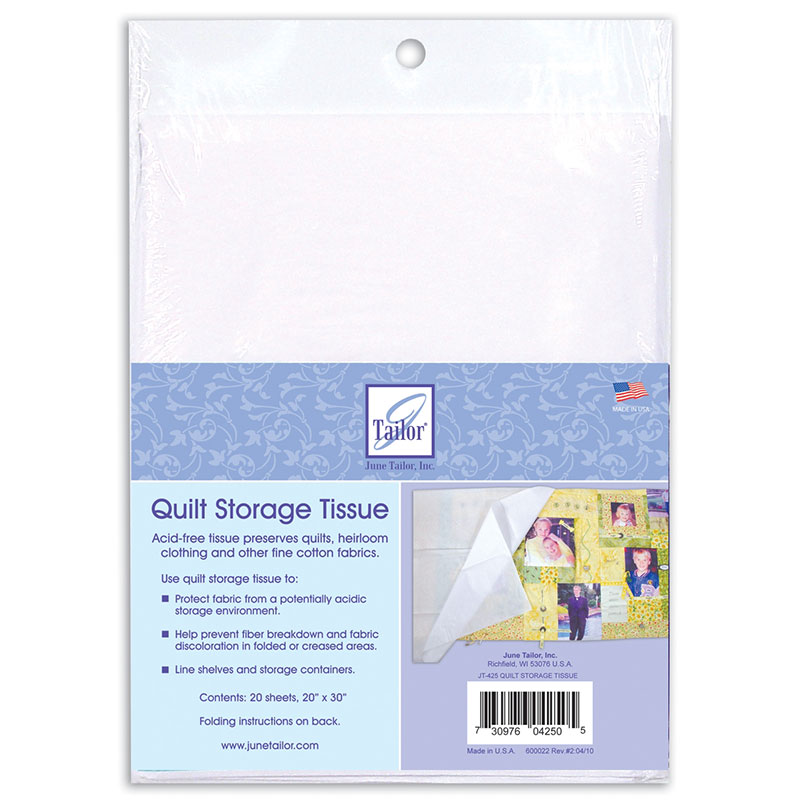 Quilt Storage Tissue Acid Free