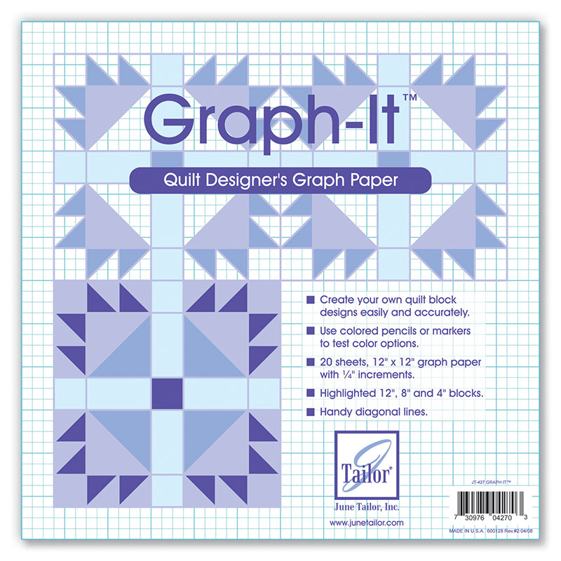 Graph It - Quilt Designer's Graph Paper
