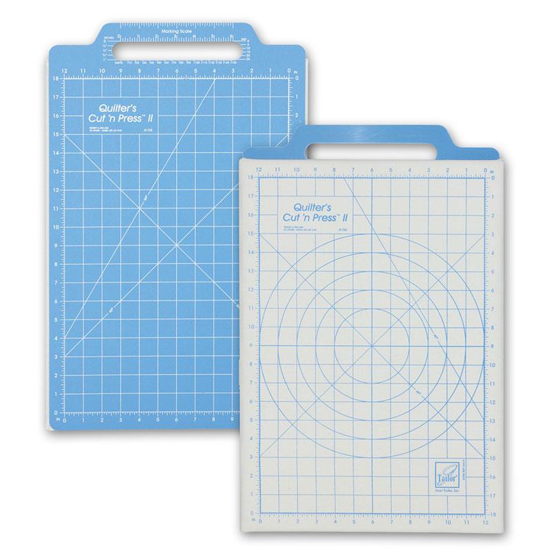 Cut N Press II Mat Grid 12x18