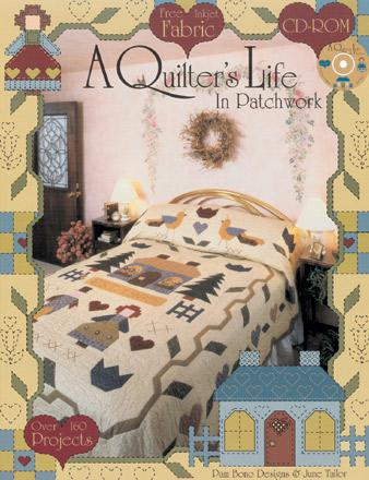 Books - A Quilter's Life in Patchwork - JT870